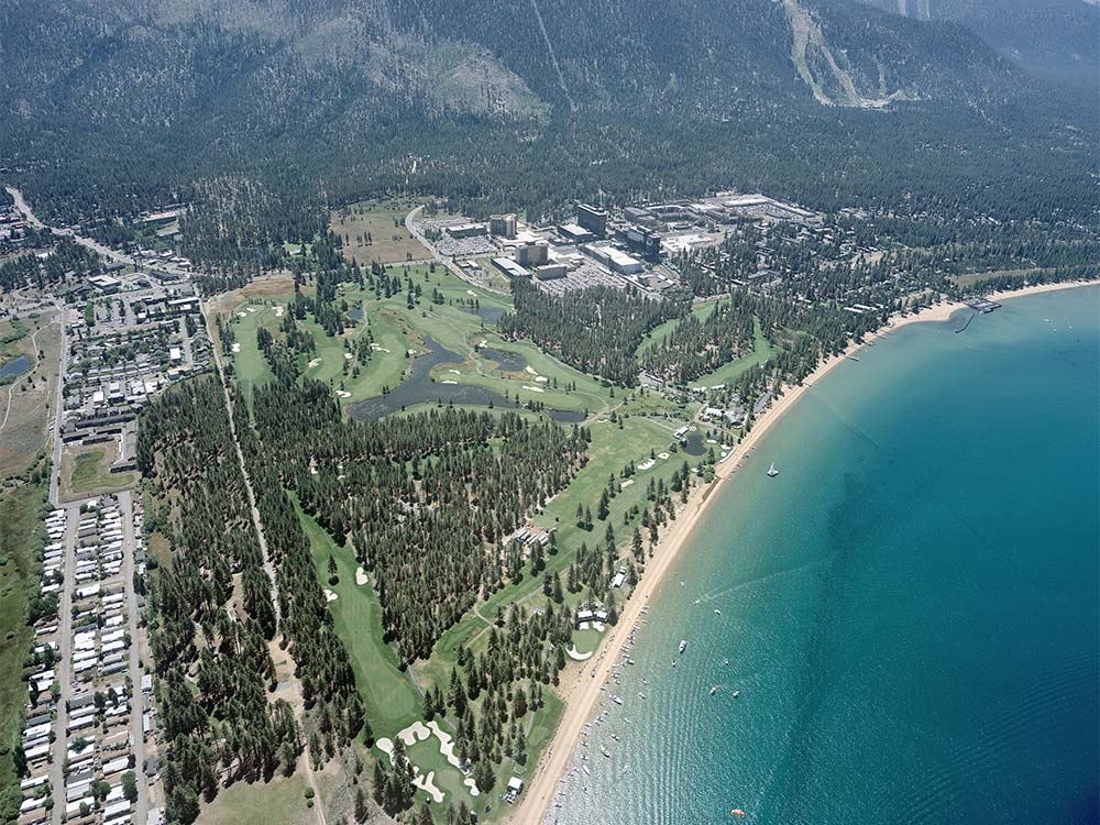 Digital Aerial Photography | Oblique South Lake Tahoe